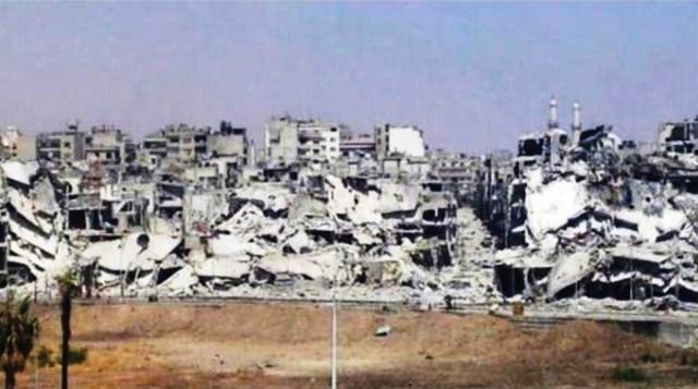 الدمار-في-حمص